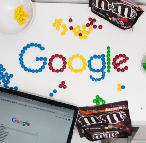 Google in m&ms for SEO basics