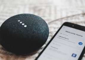 voice search device and smartphone